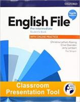 English File 4th edition Pre-Intermediate Student's Book Classroom Presentation Tool