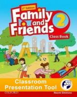 Family and Friends 2nd edition 2 Class Book Classroom Presentation Tool