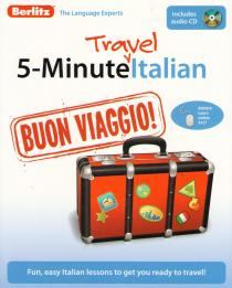 Фото книги 5-Minute Travel Italian+CD