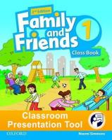 Family and Friends 2nd edition 1 Class Book Classroom Presentation Tool